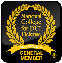 National College for DUI Defense Attorney General Member seal